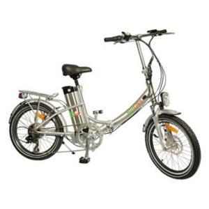 Bicicleta Elétrica Biobike Aro 20 Susp. Dianteira Prata 250w - Js20