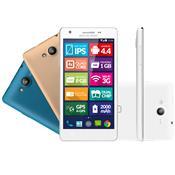 Celular Smartphone Multilaser P3313 8gb Branco - Dual Chip