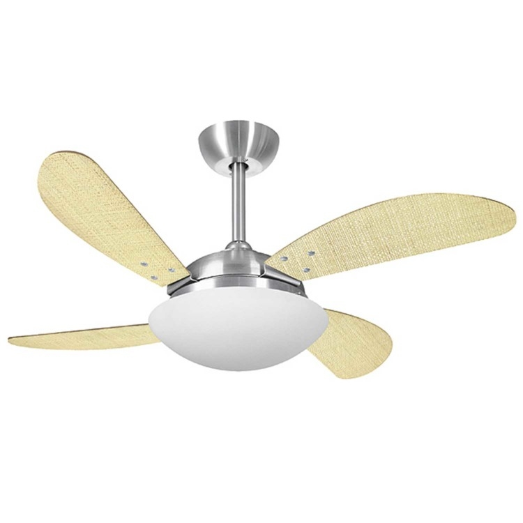 Ventilador de Teto 4 Pás Volare Platinum Fly Palmae Natural Cm - 110v - Vr42