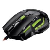 Mouse Usb Óptico Led 2400 Dpis Xgamer Fire Button Mo208 Multilaser