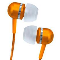 Fone de Ouvido Intra-auricular Estéreo Laranja Coby Cvem79