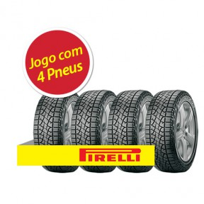 Pneu Pirelli Scorpion Atr 225/65 R17 102h - 4 Unidades
