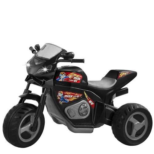 Mini Moto Magic Toys Max Turbo 6v - Preto