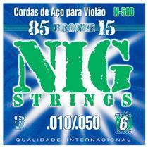 Encordoamento 0.10 Aço N500 Nig Strings
