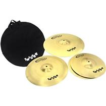 Kit de Pratos de Bateria Twr90 - Orion