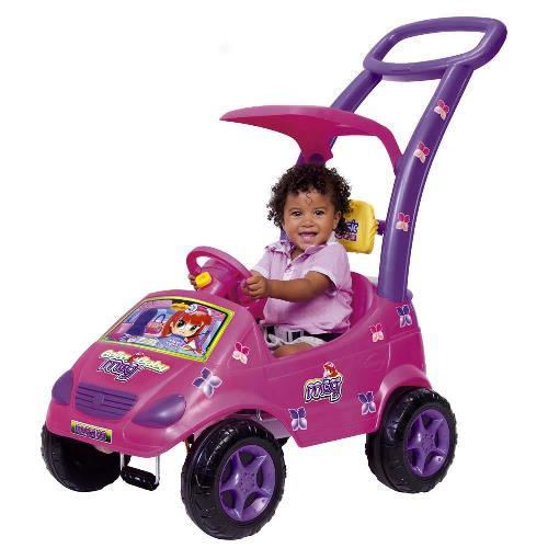 Andador Magic Toys Rosa e Roxo Roller Baby Versátil