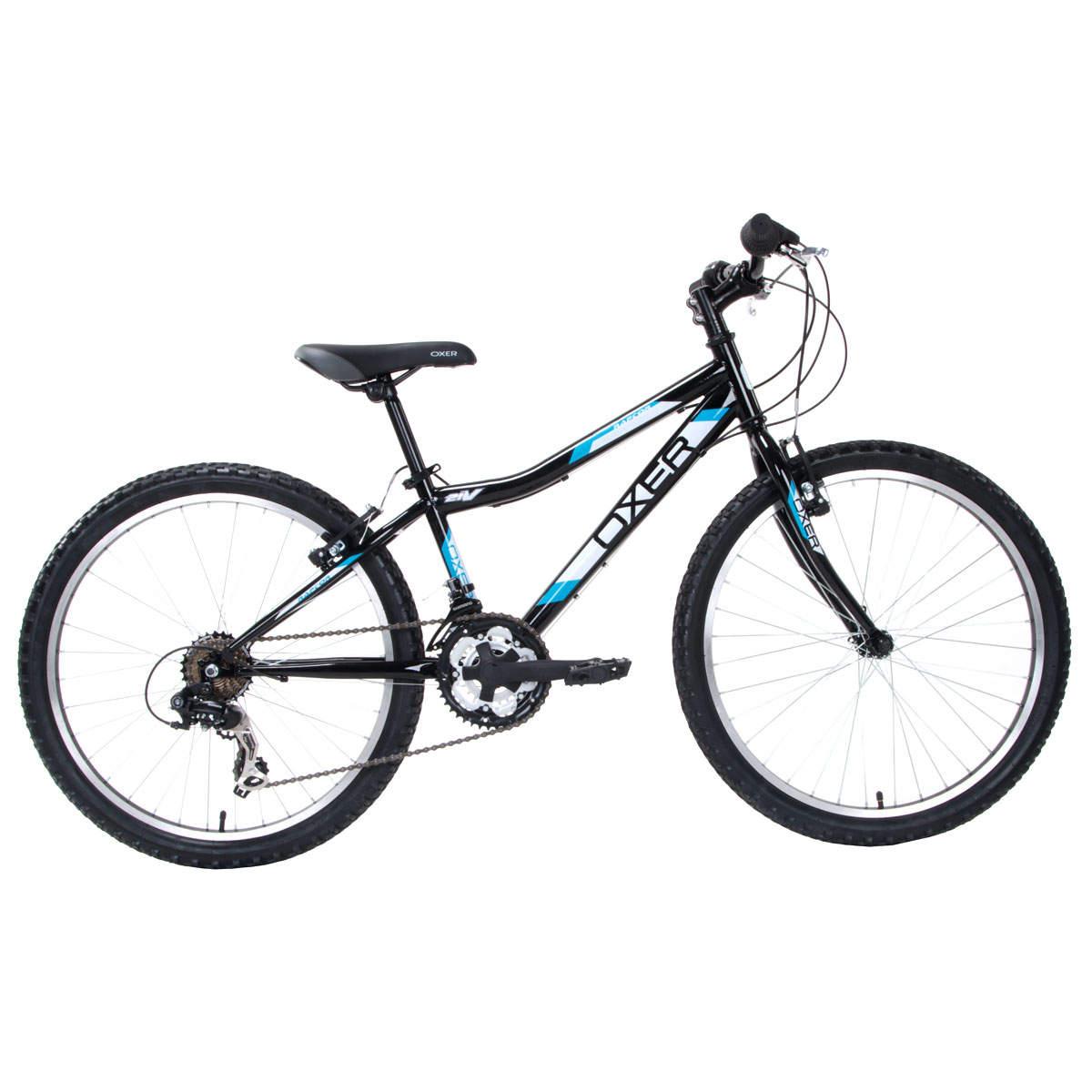Bicicleta Oxer Raptor Aro 24 Rígida 21 Marchas - Azul/preto