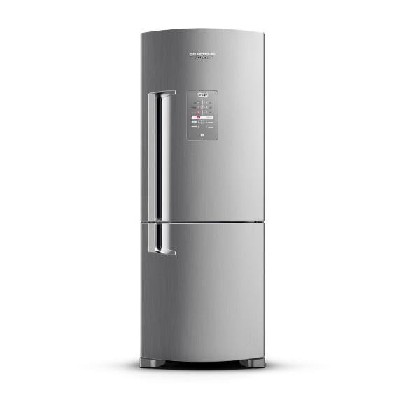Geladeira/refrigerador 422 Litros 2 Portas Platinum Viva - Brastemp - 220v - Bre51nkbna