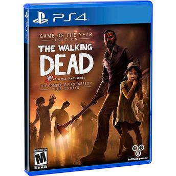 Jogo The Walking Dead: Game Of The Year Edition - Playstation 4 - Telltale Games