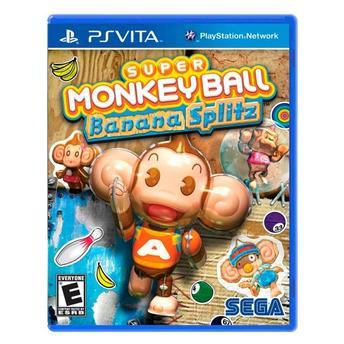 Jogo Super Monkey Ball: Banana Splitz - Ps Vita - Sega