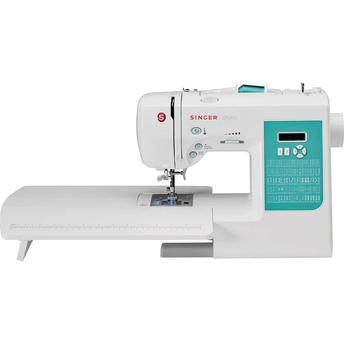 Máquina de Costura Digital Singer Stylist 7258 750 Ppm 91 Pontos Branco - 220v