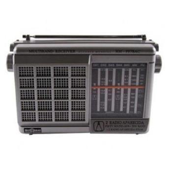 Rádio Portátil Com Rádio Am/fm Motobras 1 W Rms - 7fxs
