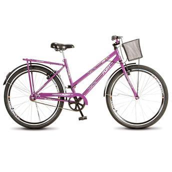 Bicicleta Colli Bike Fort Feminina Aro 26 Rígida 1 Marcha - Violeta