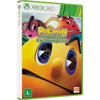 Jogo Pac-man e as Aventuras Fantasmagóricas - Xbox 360 - Namco Bandai Games
