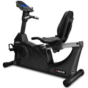 Bicicleta Ergométrica Kikos Kr96 Horizontal Magnética Com Display Eletrônico 110v