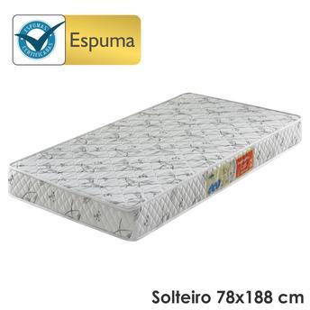 Colchão Ecoflex Ecoline - Preto 78x188x14cm D26 Solteiro