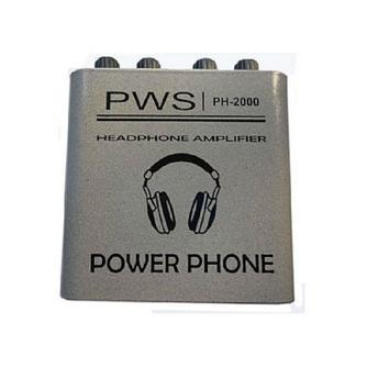 Amplificador Ph2000 2w Rms Pws