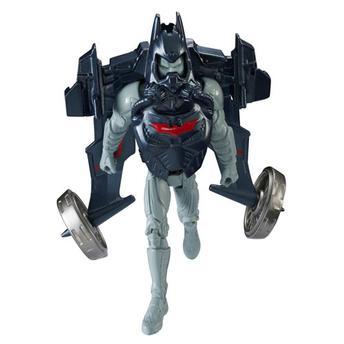 Boneco o Cavaleiro das Trevas Renasce Armadura Quicktek - Batman Luta Aérea Mattel