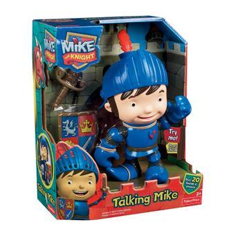 Boneco Mike o Cavaleiro Com Sons de Treinamento Mattel