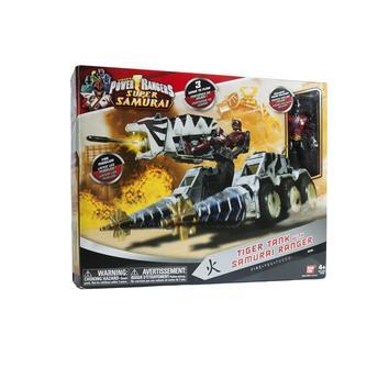 Boneco Tanque Tiger Tank Com Figura Power Rangers Sunny Brinquedos