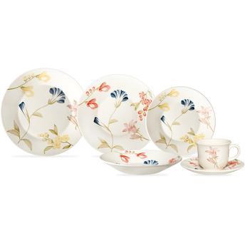 Aparelho de Jantar e Chá May 20 Peças - Biona Cerâmicas