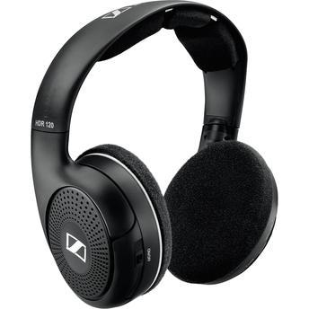 Fone de Ouvido Headphone Sem Fio Preto Sennheiser Hdr120