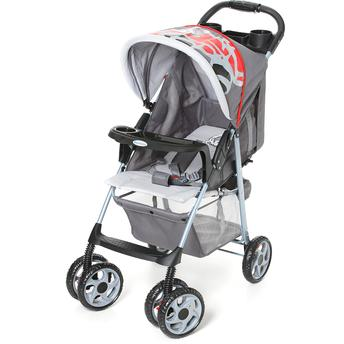 Carrinho de Bebe Galzerano Veneto Fórmula Baby Cinza