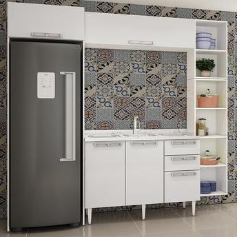 Cozinha Completa Art In Móveis Perfetto 4 Portas 3 Gavetas