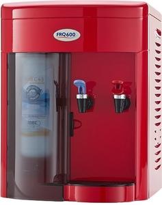 Purificador de Água Ibbl Mesa Vermelho 2 Torneiras 110v - Frq600