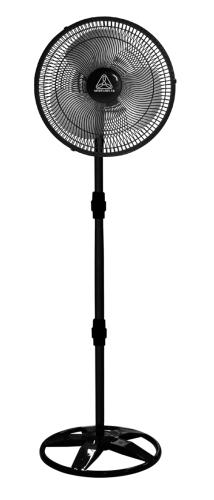 Ventilador Coluna 3 Pás Venti Delta New Preto 40cm - 110v - 63