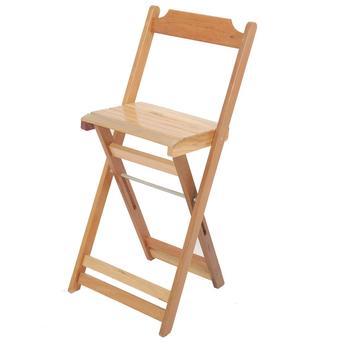 Cadeira Dobrável de Madeira Bistrô Madesil