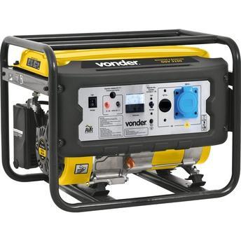 Gerador de Energia Gasolina 3100w Vonder Monofásico Bivolt - Ggv3100