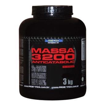 Massa 3200 Anticatabolic 3kg Chocolate Probiotica