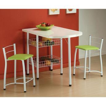 Conjunto de Mesa e Cadeira Amanda 2 Cadeiras Criativa