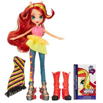 My Little Pony Mpl Equestria Girl Deluxe Sunset Shimmer A9248 Hasbro
