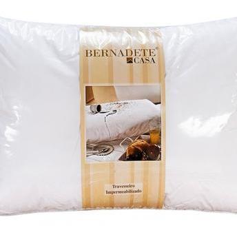 Travesseiro Bernadete Casa Impermeavel 100% Algodão 150x50cm