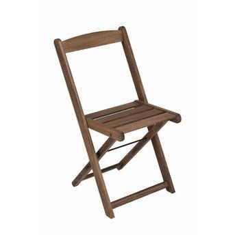 Cadeira Dobrável Bar Mestra Stain Nogueira Butzke