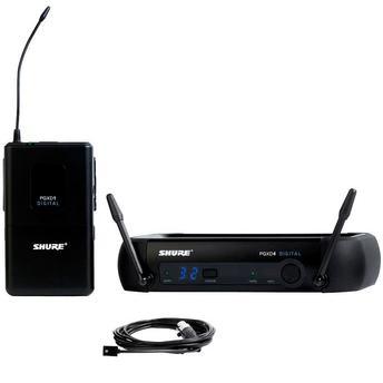 Kit Microfone S/ Fio Lapela + Receptor + Transmissor Pgxd14/wl93 Shure