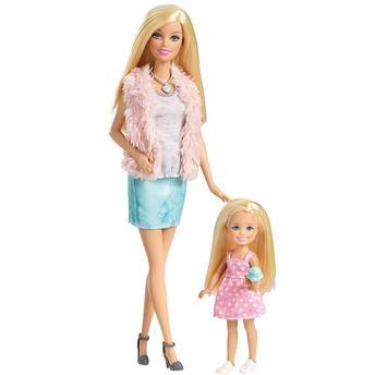 Boneca Barbie Mattel Family 3 É Demais - Barbie e Chelsea Cgt44