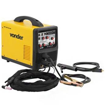 Máquina de Solda Retificador Inversor Riv205 220v Vonder