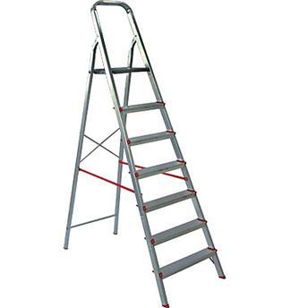 Escada de Alumínio Residencial 8 Degraus Er08 Rotterman