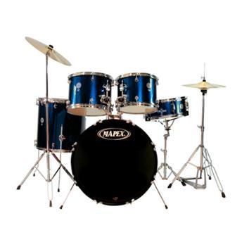 Bateria Acústica Mapex Prodigy Com Banco Azul - Pdg-5254tc