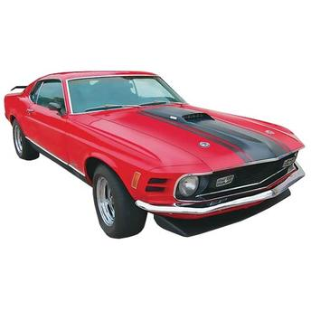 Mustang Mach I 1970 1:24 85 Revell - Automodelismo