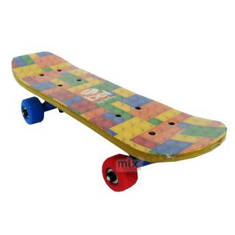 Skate 4140 Street Infantil - Bloco Lego Colorido Bel Sports