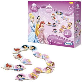 Jogo de Carta Dominó Princesas Disney Xalingo