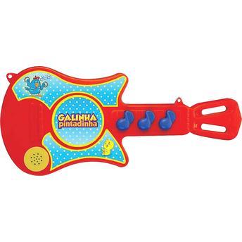 Guitarra Galinha Pintadinha Baby Brink