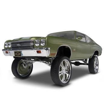 Chevelle Donks 1970 1:25 852058 Revell - Automodelismo