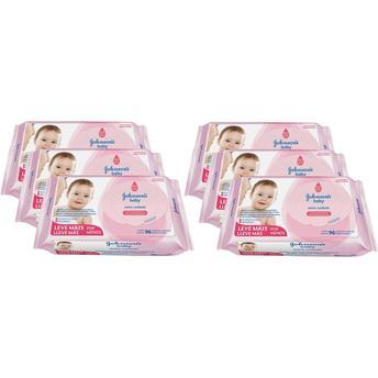 Lenços Umedecidos Extra Cuidado - 576 Unidades Johnsons Baby