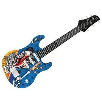 Guitarra Infantil Luxo Hot Wheels Fun