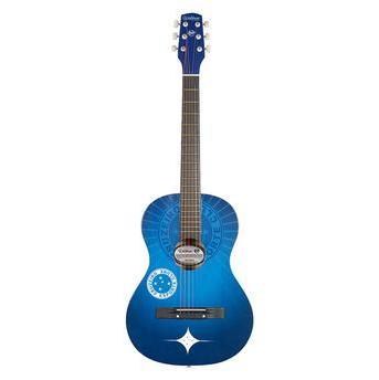 Violão Acústico Cruzeiro 6 Cordas Aço Acu1cru Azul - Waldman